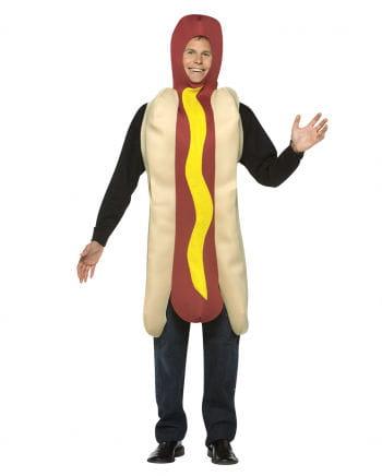 Kostüm Hot Dog mit Senf