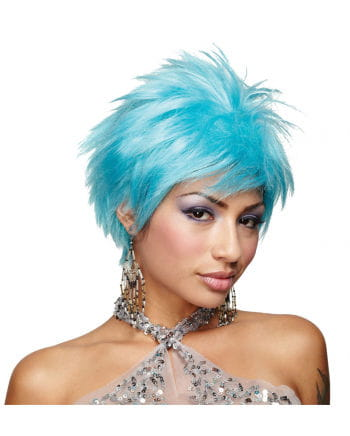Hot Blue Vivid Cosplay Wig
