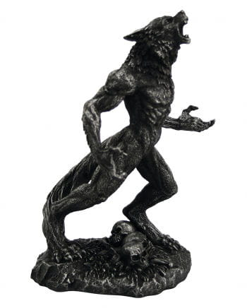 Howling werewolf decorator