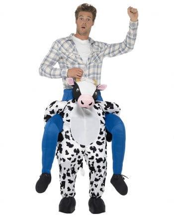 Carry Me Kostüm Reiter auf Kuh