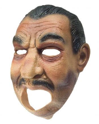 Banditen Maske aus Latex