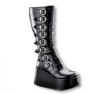 Inamagura Gothic Plateaustiefel