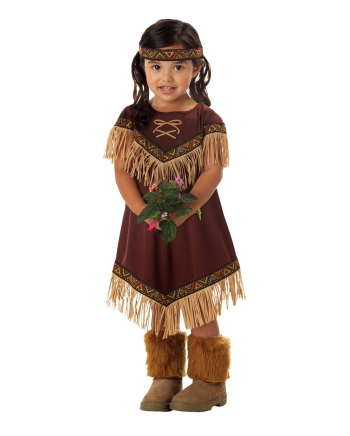Kleine Squaw Prinzessin Kleinkinderkostüm
