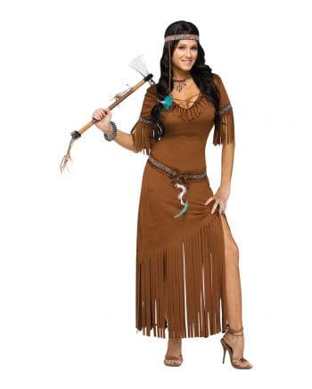 Indianerin Western Damenkostüm