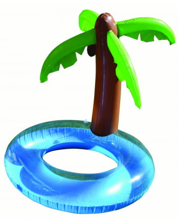 Island swimming ring with palm 125cm