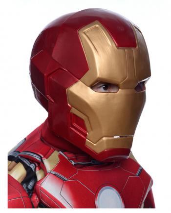 2-tlg Iron Man Deluxe Maske für Kinder