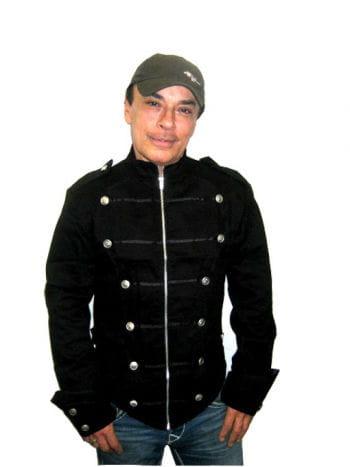 schwarze Uniformjacke Gr Large