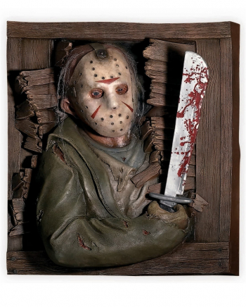 Jason Friday The 13th Wallbreaker Deco 60 X 50 Cm