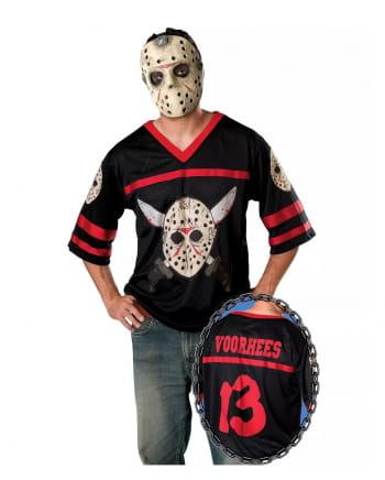 Kostümshirt Jason mit Maske