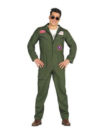 Fliegerass Pilot Kostüm