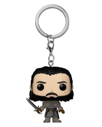 Jon Snow Keychain Pocket POP