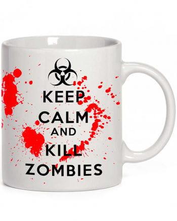 Tasse Keep Calm and Kill Zombies