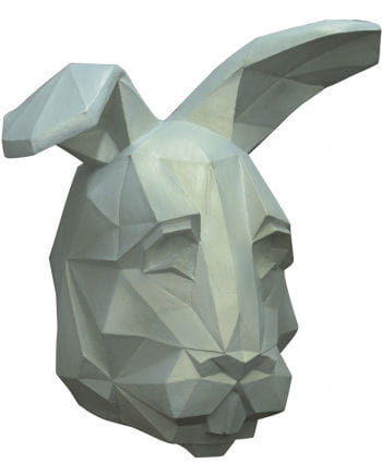 Low poly rabbit mask