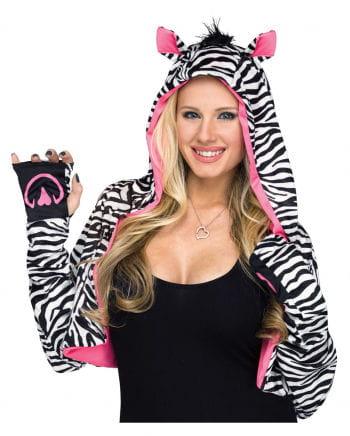 Bolero Hoodie im Zebra Style