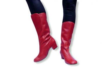 Rote Karnevals Stiefel