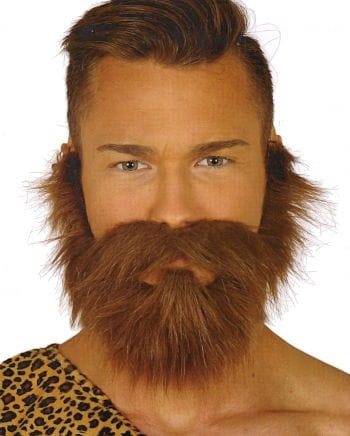 Maroon Beard With Mustache