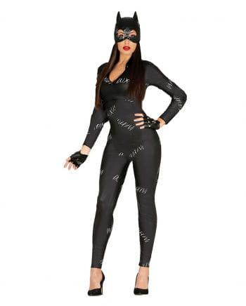 Sexy cat jumpsuit women's costume