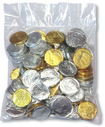 Chewing Gum Coins 100 PCS