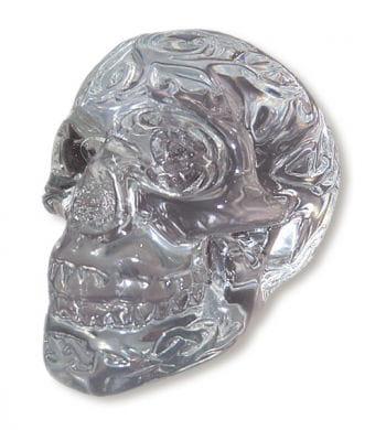Celtic Skull Head Clear