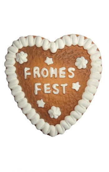 Lebkuchenherz Frohes Fest