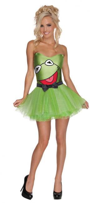 Muppets Kermit Damenkostüm