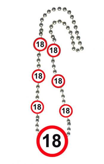Chain traffic sign 18