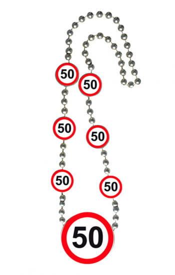 Chain traffic sign 50