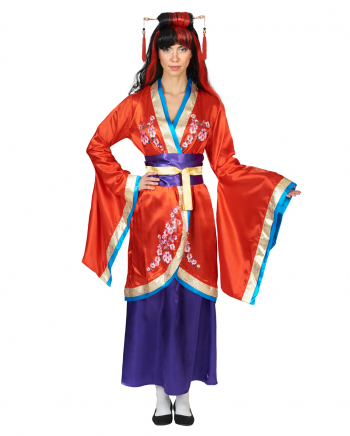 3-piece Kimono Costume With Belt
