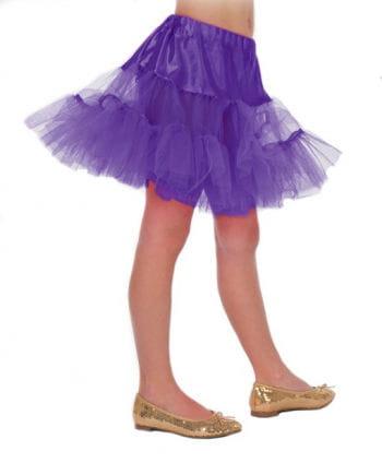 Kinder Petticoat lila