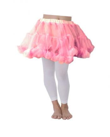 Pinkfarbener Kinder Petticoat