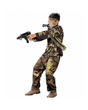 Kinder Soldaten Uniform Tarnfleck S