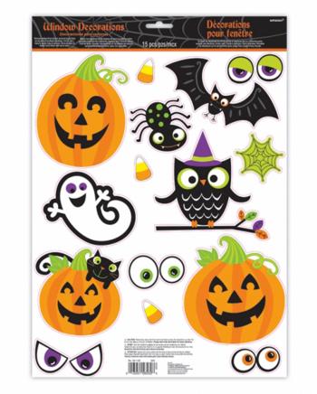 15-tlg Familienfreundliche Halloween Sticker