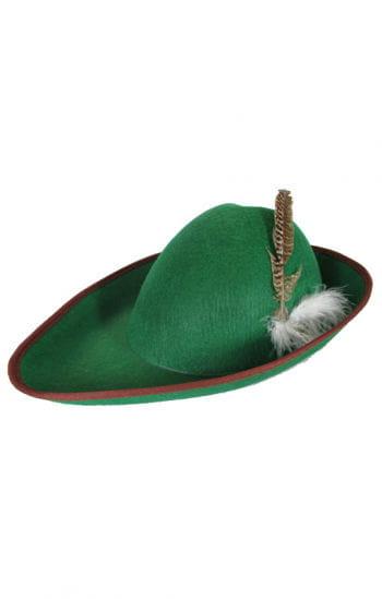 Kinderhut Robin Hood with ostrich feather