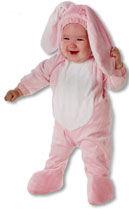 Pinker Hase Kids Costume XL