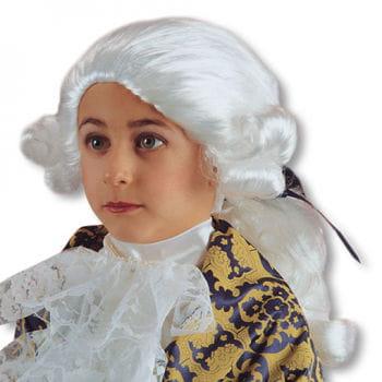 Baroque cavalier child wig