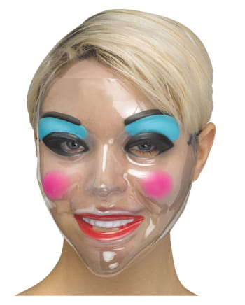Clear Make-up Women Mask