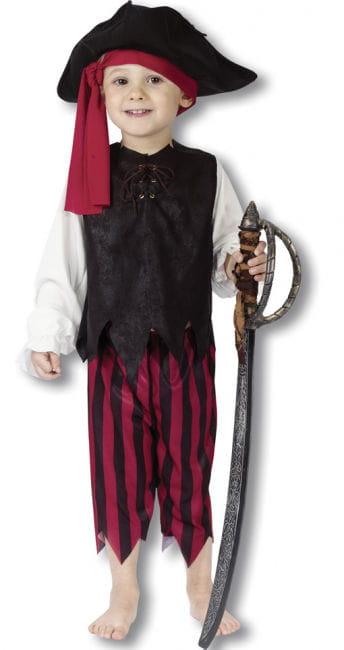 Kleiner Pirat Kostüm Gr.S (ca. 2 J.) S