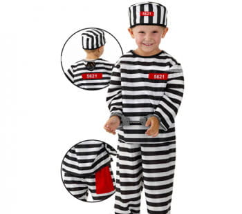 Little Convict Child Costume