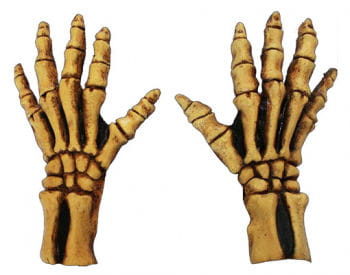 Bone Skeleton Gloves