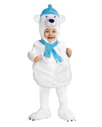 Cute Polar Bear Baby Costume