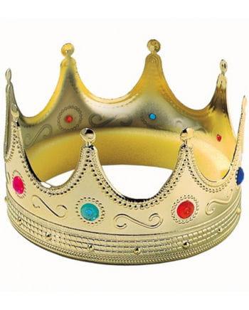 XL Königs Krone mit bunten Steinen