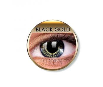 Kontaktlinsen Black Gold