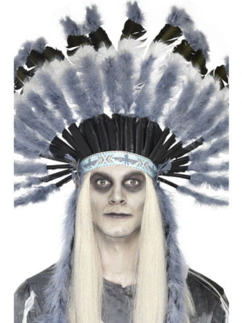 Native American Indian Headdress Ghost Town
