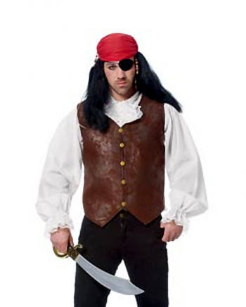 Piratenweste Braun