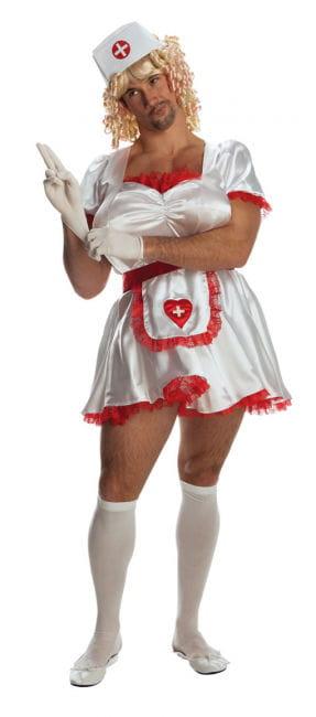 Krankenschwester Herrenkostüm