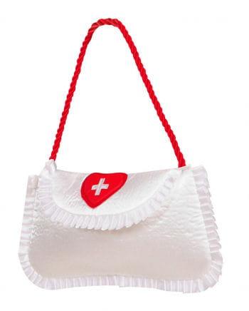 Krankenschwester Handtasche aus Satin