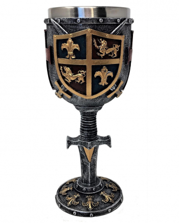 Crusader Coat Of Arms Goblet