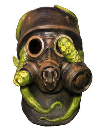 War gas mask with Octopus