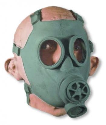 Kriegsmaske mit Atemschutz