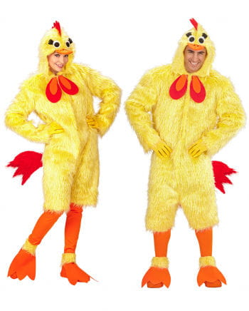 Chick Costume Made Of Plush